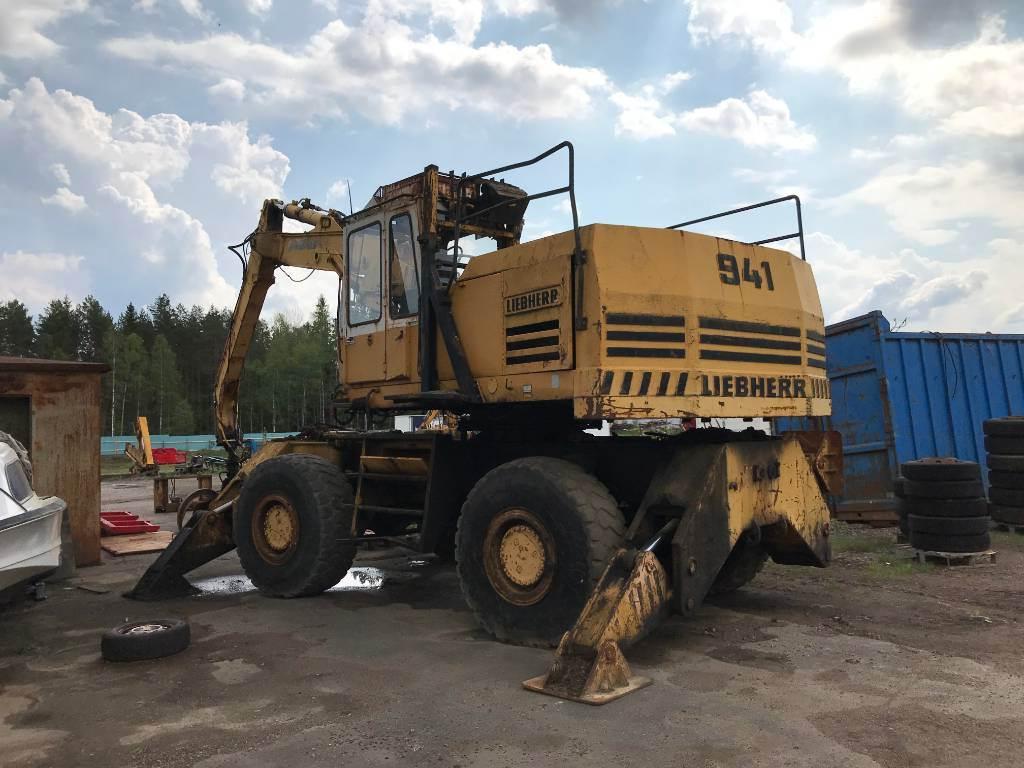 Liebherr a 941 b, Aggegate Equipment, Construction Equipment