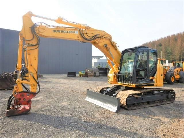 New Holland Kobelco E 140 C SR mit Powertilt, Crawler Excavators, Construction Equipment