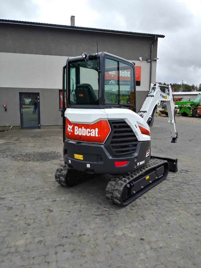 Bobcat E 34 DEALER, Mini digger, Construction Equipment