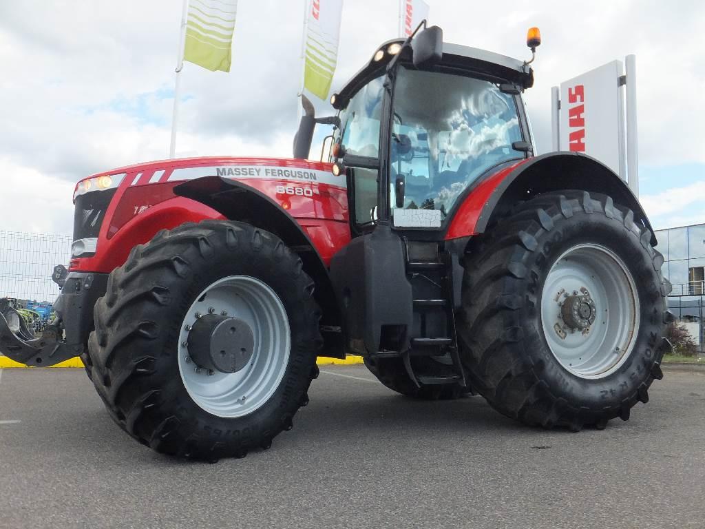 Massey Ferguson 8680, Traktoriai, Žemės ūkis