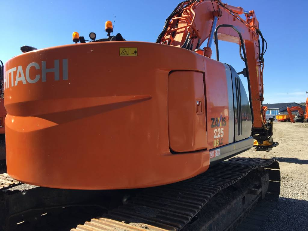 Hitachi ZX 225 LC-3/ Göteborg, Crawler Excavators, Construction Equipment