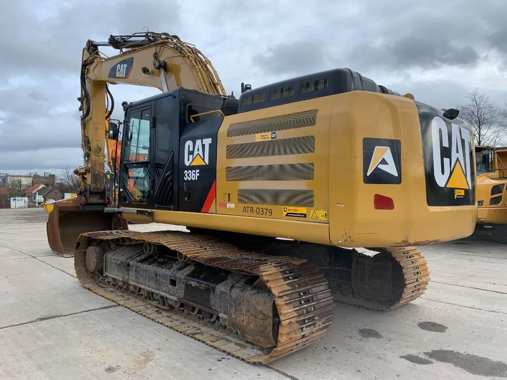 Caterpillar 336 FL, Crawler excavators, Construction