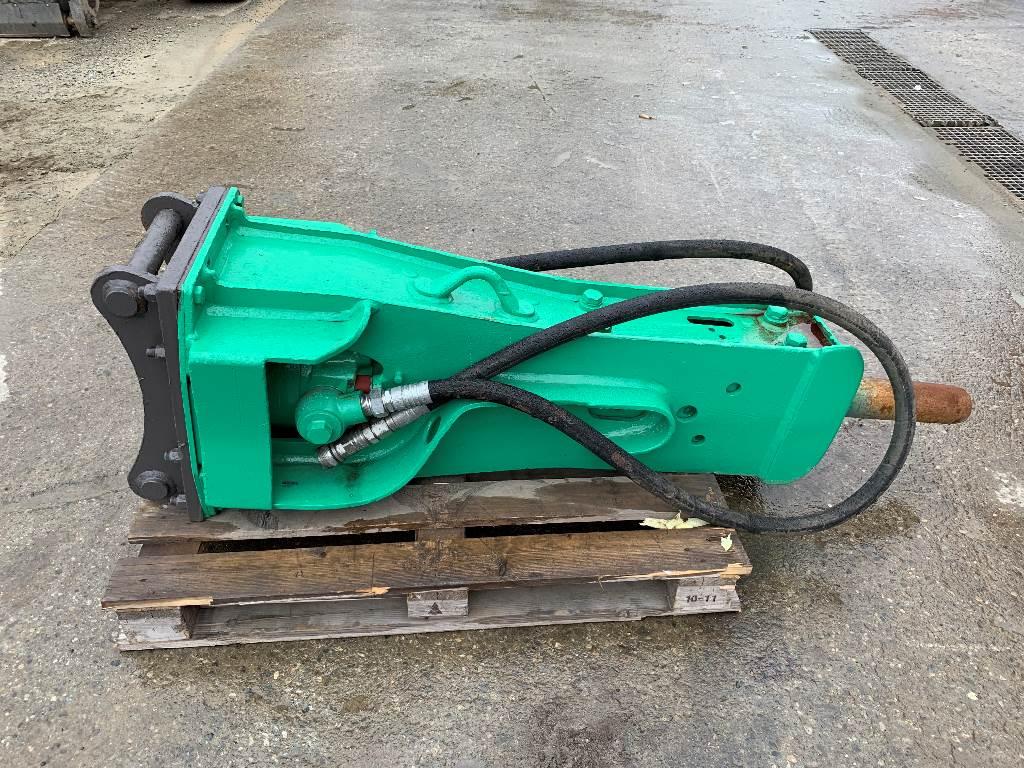 Montabert BRH 270, Hydrauliske hammere, Anlegg