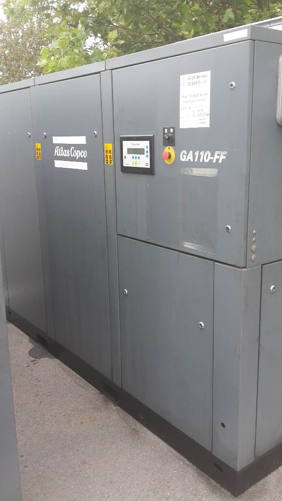Atlas Copco GA 110 FF - Direct available, Compressors, Industrial
