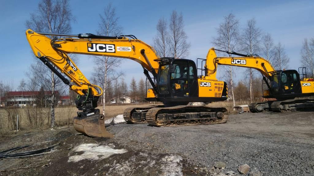 JCB JS 210 LC T4F, Telakaivukoneet, Maarakennus