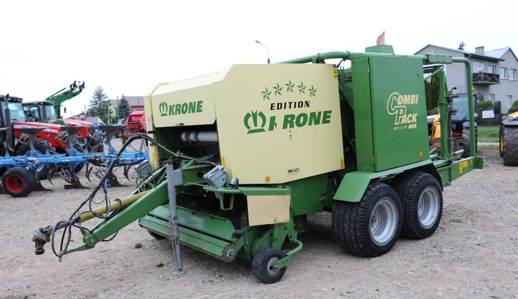 Krone 1250 Combi Pack, Prasy zwijające, Maszyny rolnicze