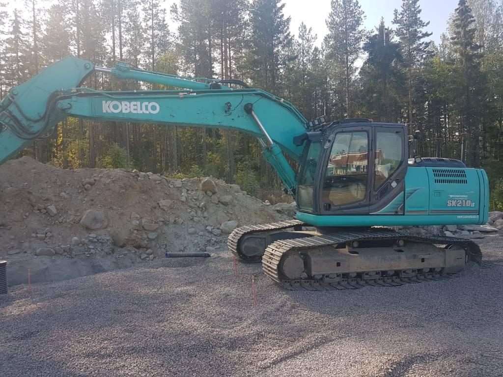 Kobelco SK 210 LC-9, Telakaivukoneet, Maarakennus