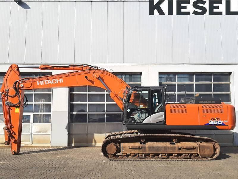 Hitachi ZX 350 LC N-6, Crawler Excavators, Construction Equipment