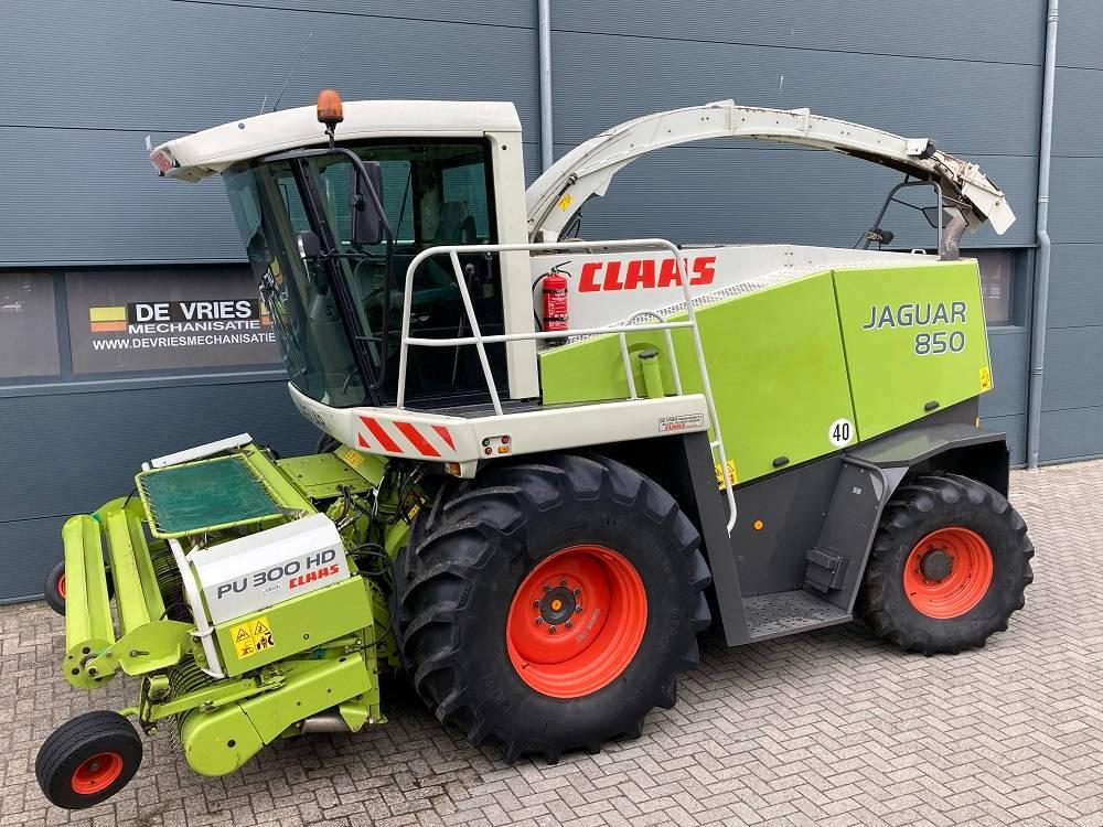CLAAS Jaguar 850 Speedstar, Forage harvesters, Agriculture