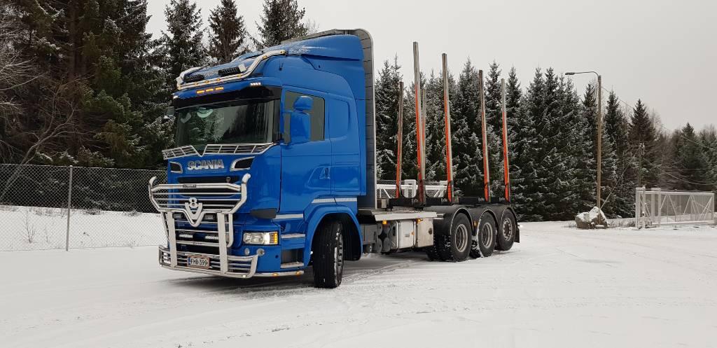 Scania R 730, Puuautot, Kuljetuskalusto
