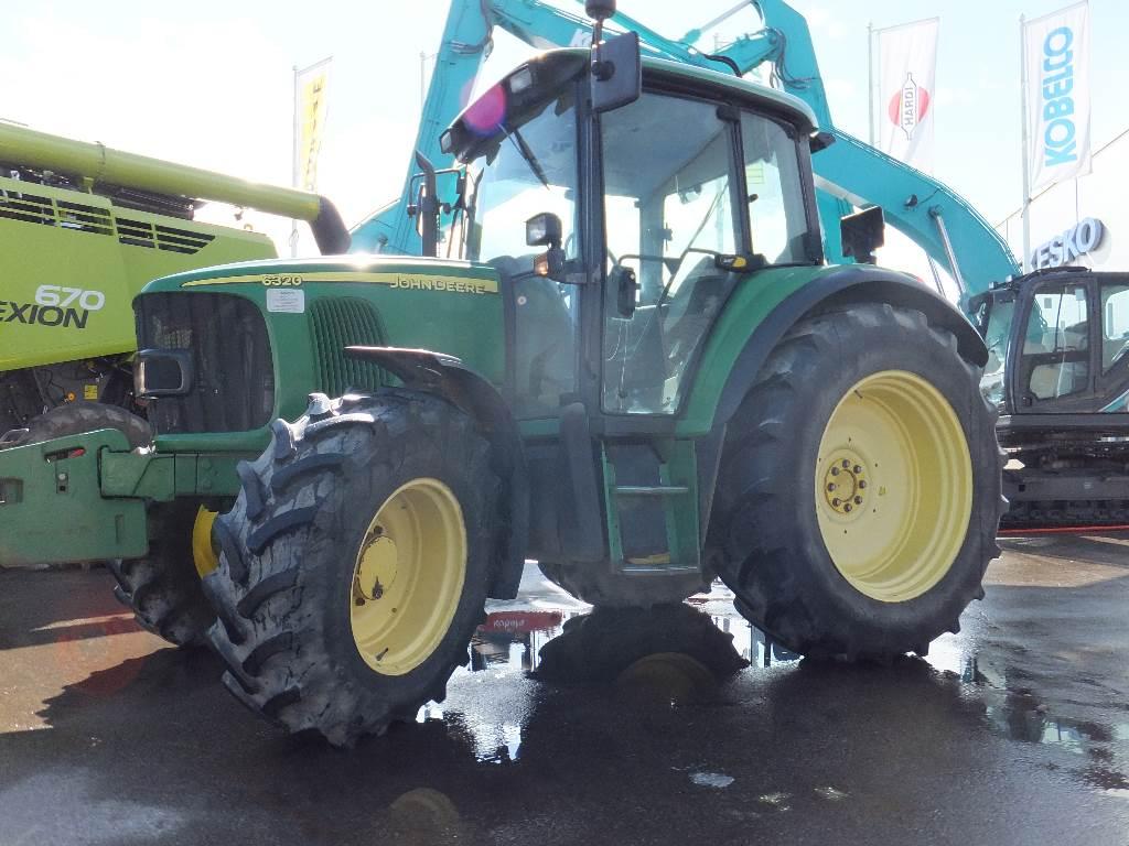 John Deere 6320 SE, Traktoriai, Žemės ūkis