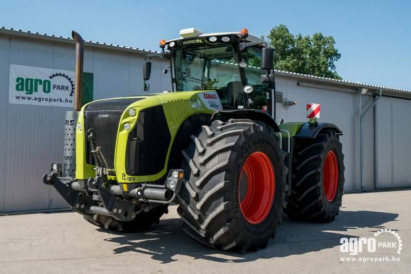 CLAAS Xerion 5000 (2072 hours), 4800 kg ballast