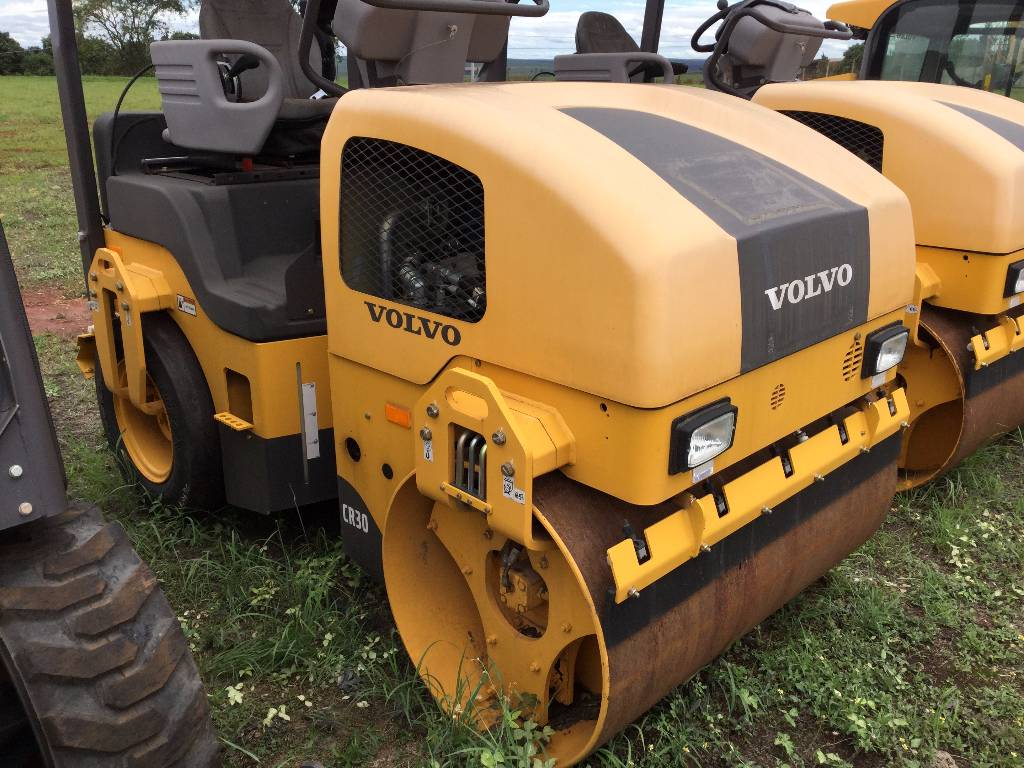 Volvo CR30, Combi rollers, Construction Equipment