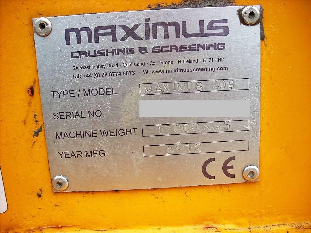 Maximus 409, Sorteringsverk, Entreprenad