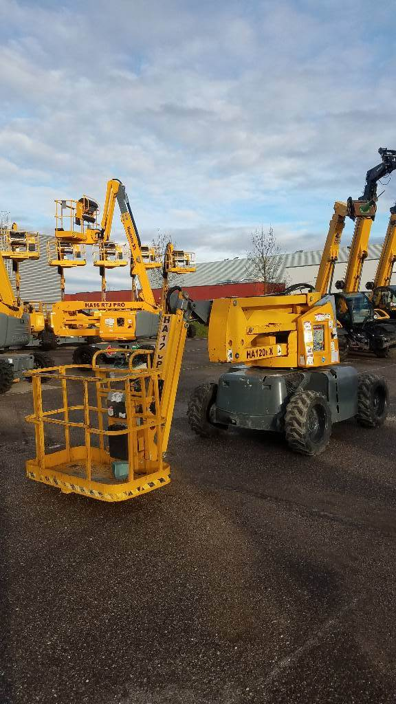Haulotte HA120 PX, Articulated boom lifts, Construction Equipment