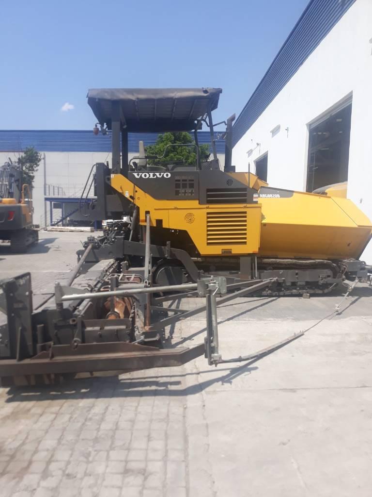 Volvo ABG 8820B, Asphalt pavers, Construction Equipment