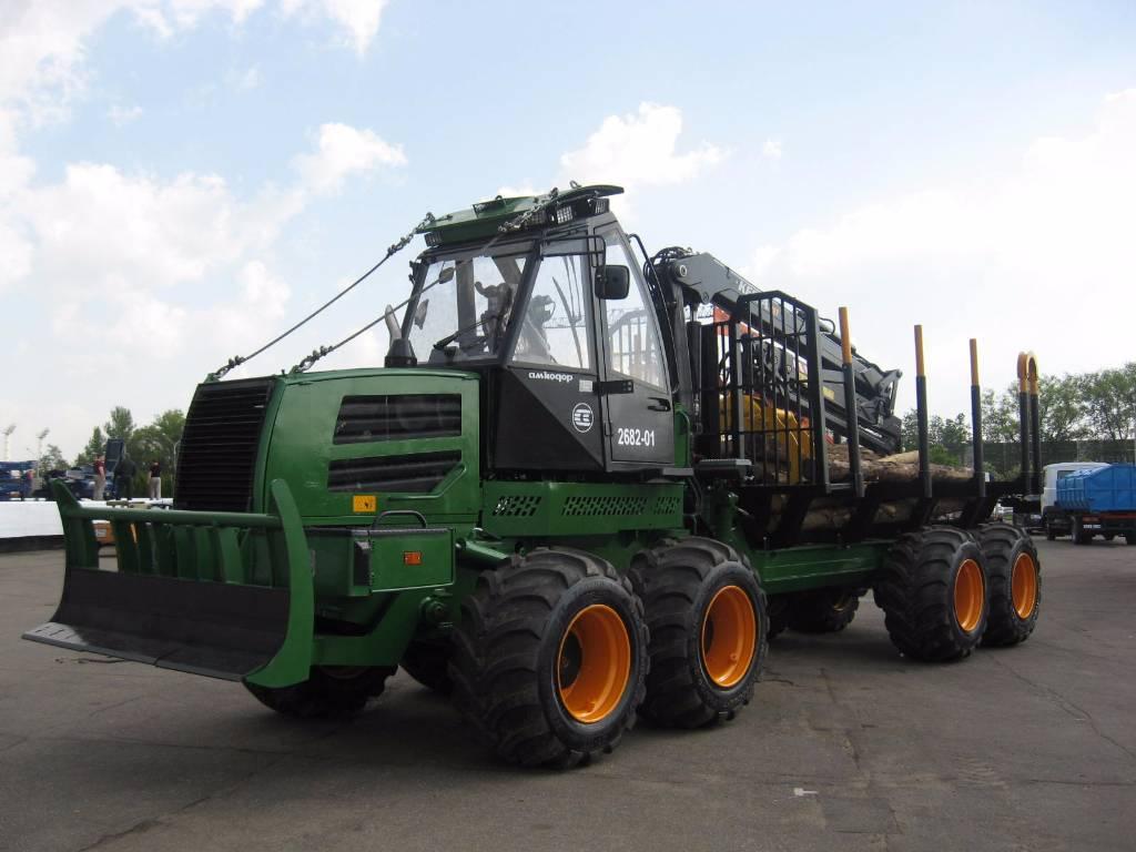 Amkodor 2682-01, Forwardery, Maszyny leśne