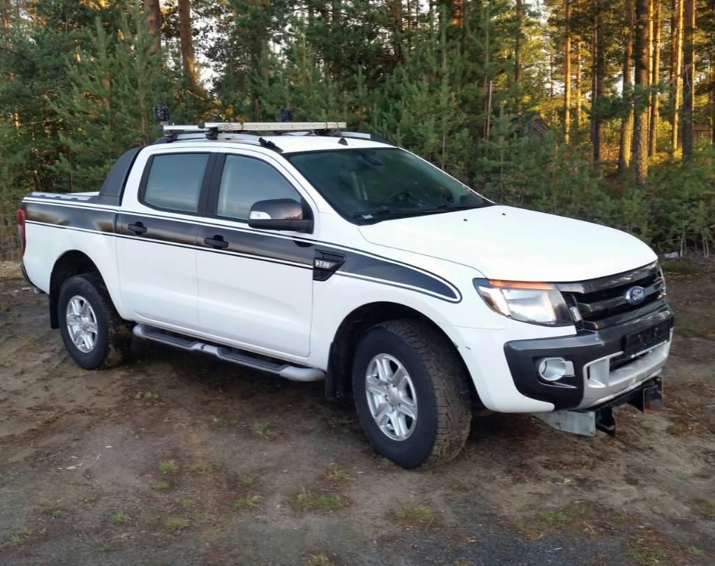 Ford Ranger XLT, Jakeluautot, Kuljetuskalusto