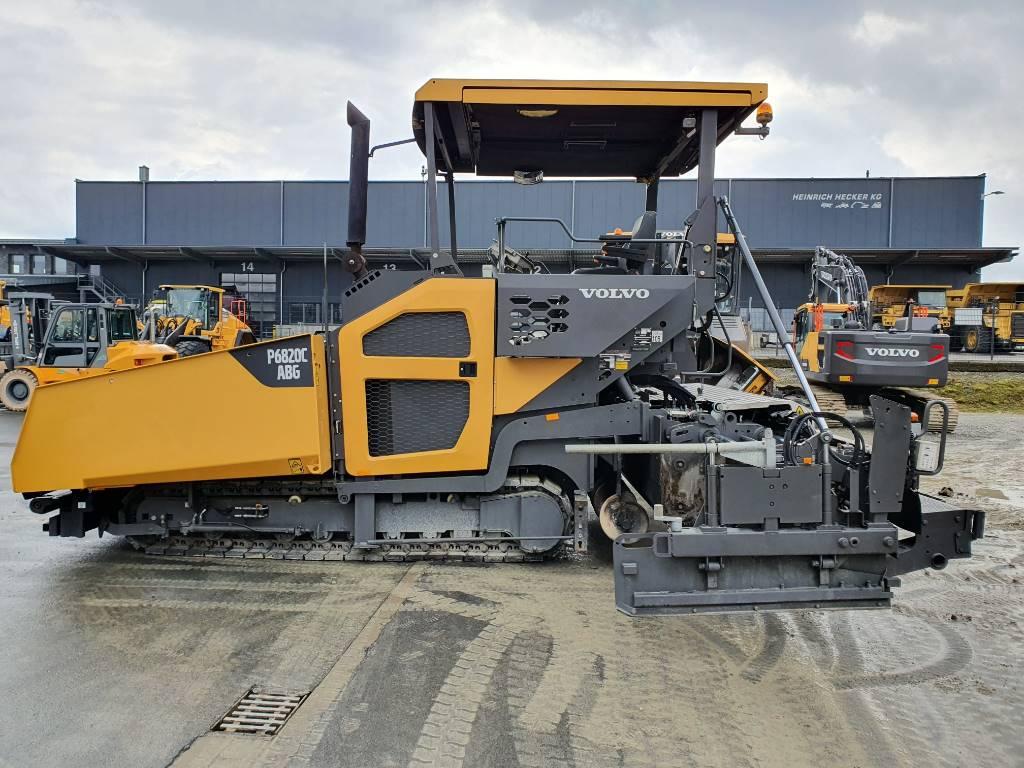Volvo 6820 C, Asphalt pavers, Construction Equipment