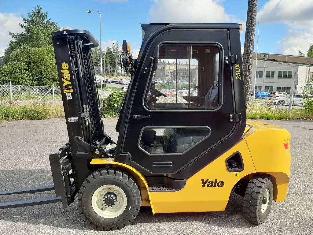 Yale GDP250UX, Dieseltrukit, Materiaalinkäsittely
