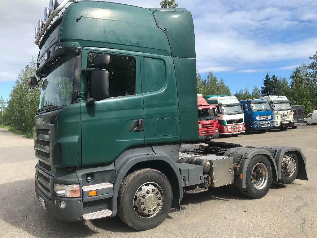 Scania R480 6x2 ADR, Vetopöytäautot, Kuljetuskalusto