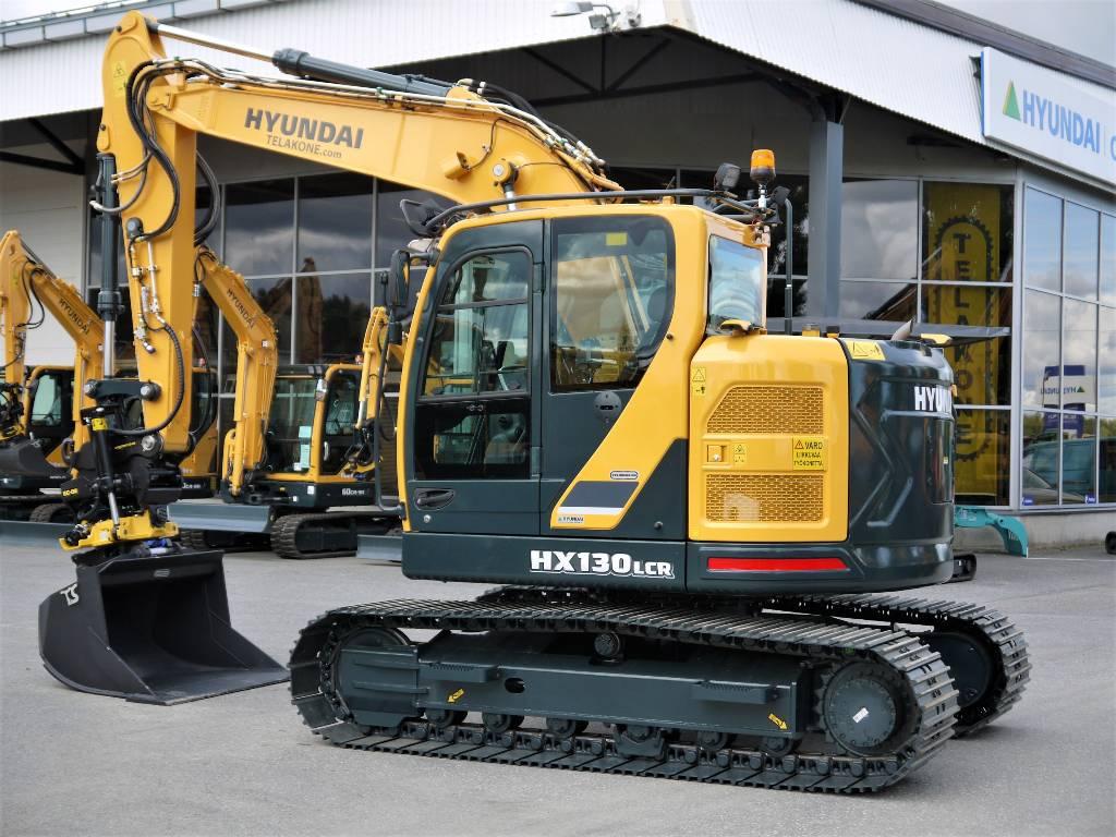 Hyundai HX 130 LCR, Telakaivukoneet, Maarakennus