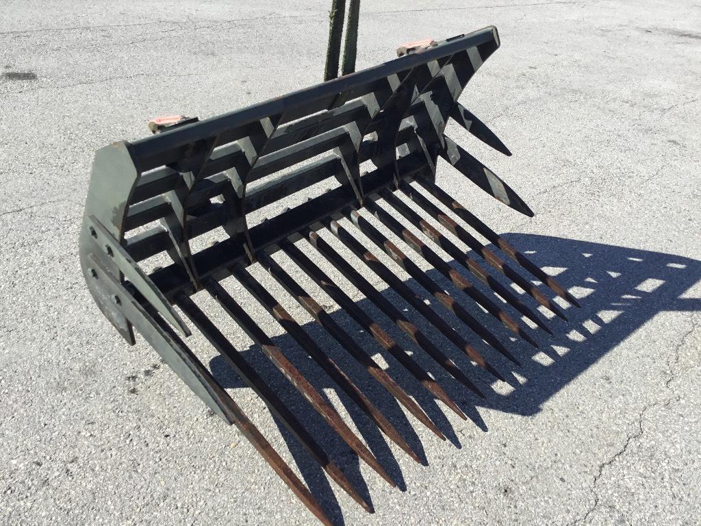 Quicke 150 kivitalikko, Muut kuormaus- ja kaivuulaitteet sekä lisävarusteet, Maatalous