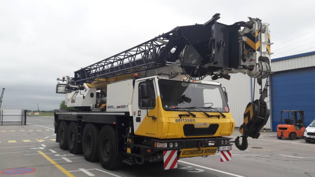 Grove GMK 4080-1, Used all terrain cranes, Construction