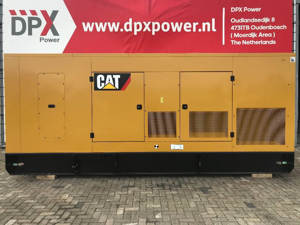 Caterpillar C18 - 850 kVA Generator - DPX-18032, Diesel generatoren, Bouw