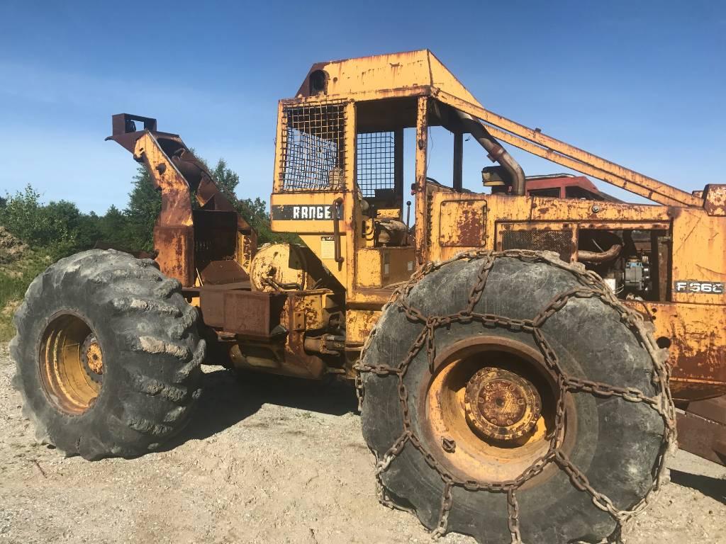 Clark 667D - Skidders - Forestry equipment - Stosik Forestry