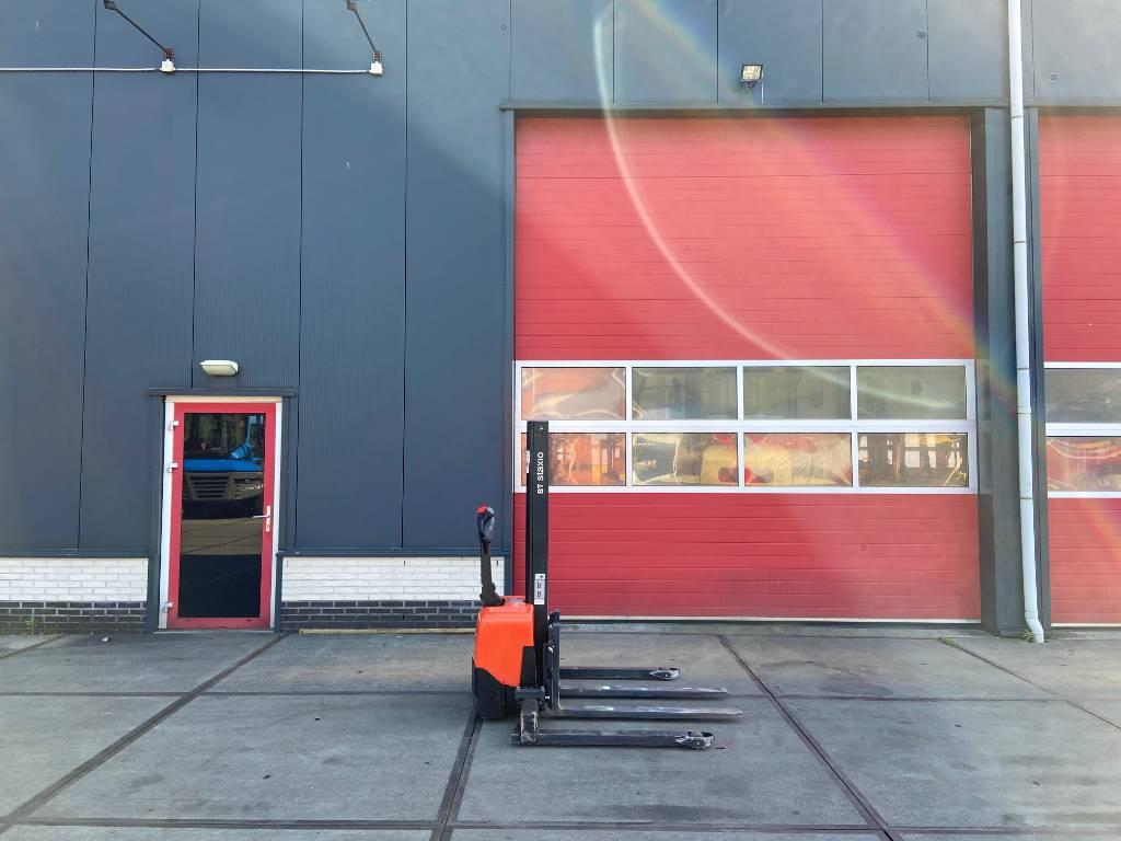 BT HWE 100 S Stapelaar (nieuwe accu's), Zelfrijdende stapelaars, Laden en lossen