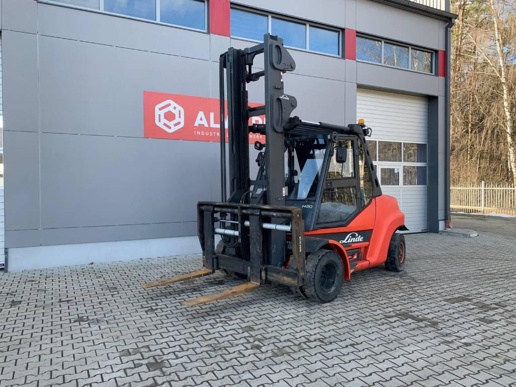 Linde H80D, Diesel trucks, Material Handling
