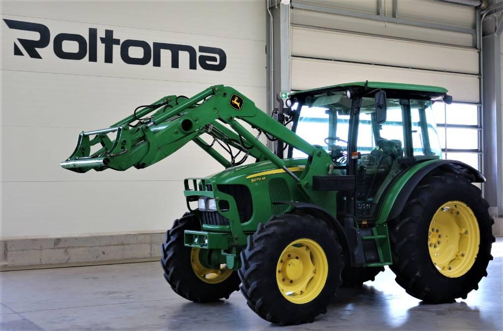 John Deere 5070 M, Traktory, Maszyny rolnicze