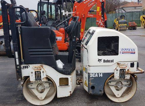 Bobcat BCA 14, Twin drum rollers, Construction Equipment