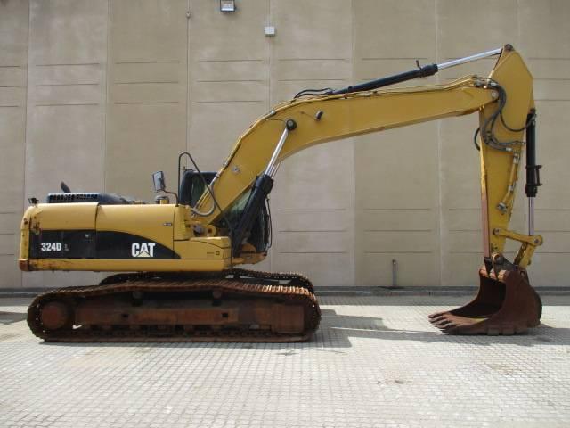 Caterpillar 324 D, Gravemaskiner, Entreprenør