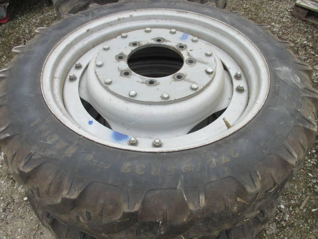 [Other] Sprøjtehjul 270/95R32, Andet tilbehør til traktorer, Landbrug