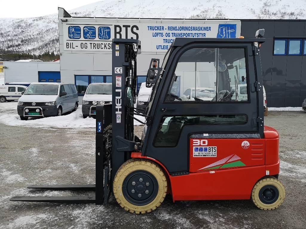 Heli CPD30-GD2 (G) - 3,0 tonns el. truck (PÅ LAGER), Elektriske trucker, Truck