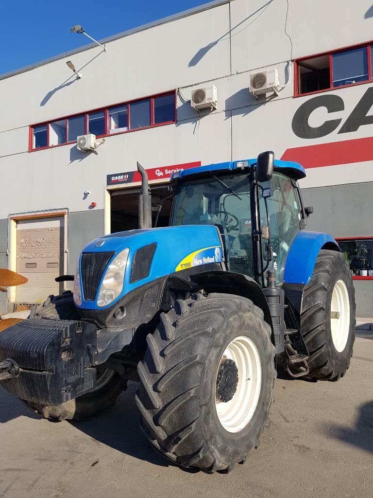 New Holland T 7050, Tractoare, Utilaje agricole