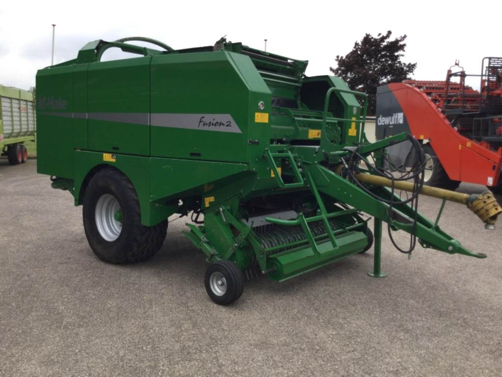 McHale fusion 2 PERSWIKKELAAR, Round Balers, Agriculture