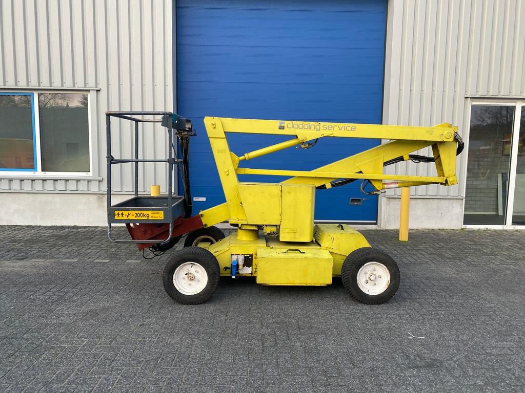 Niftylift HR 12, Hoogwerker, 12 meter, Diesel + Accu, Knikarmhoogwerkers, Bouw