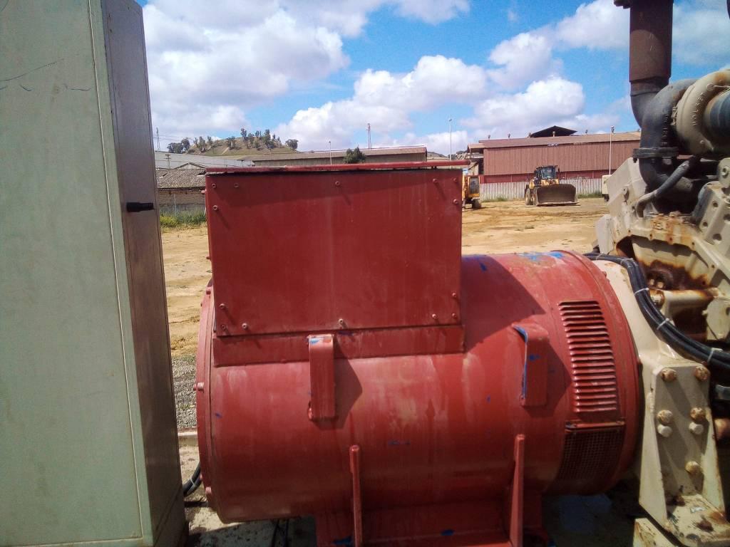 Cummins KTA 38, Generadores diesel, Construcción