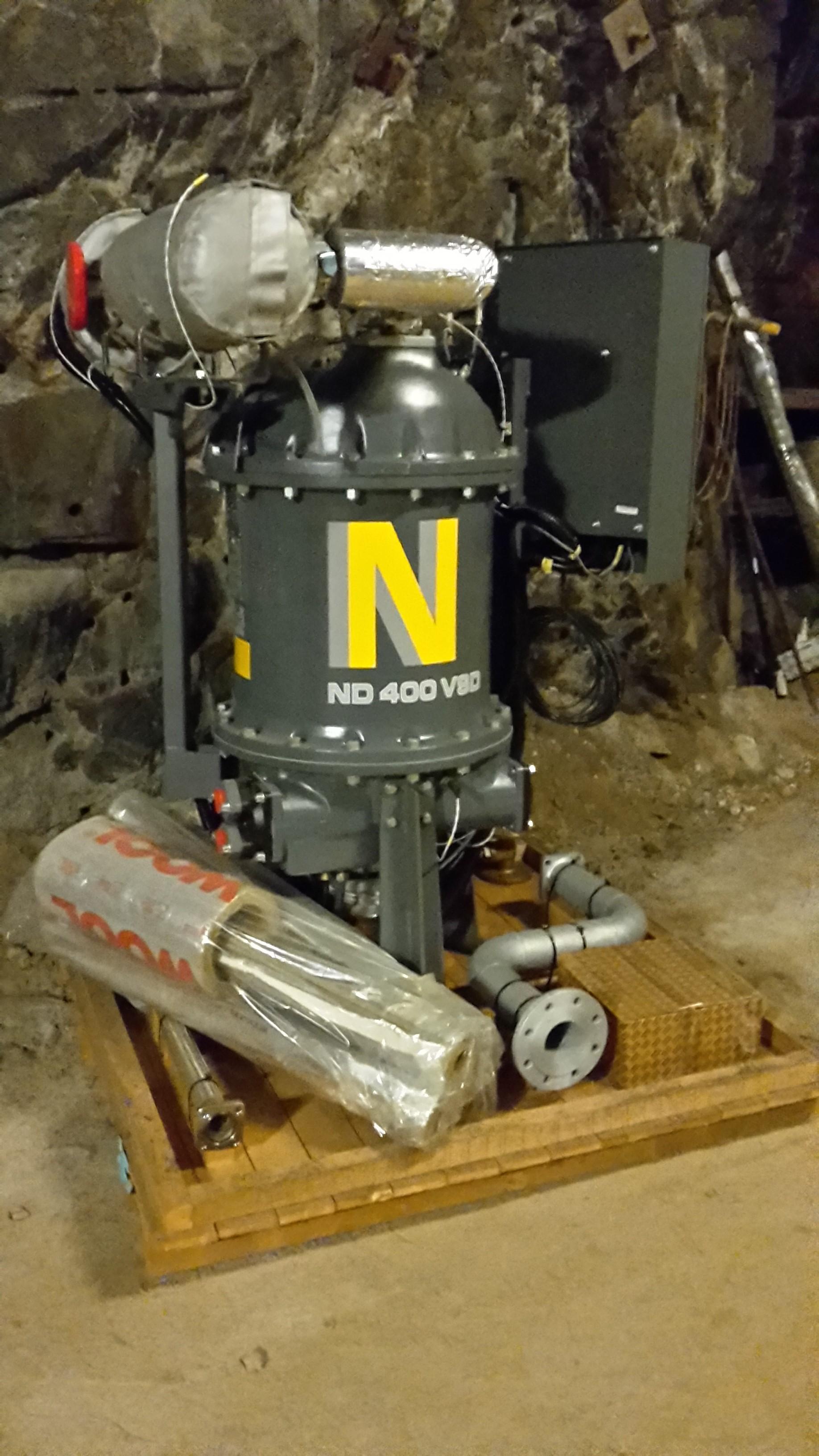 Atlas Copco ND 400 VSD, Compressed air dryers, Industrial