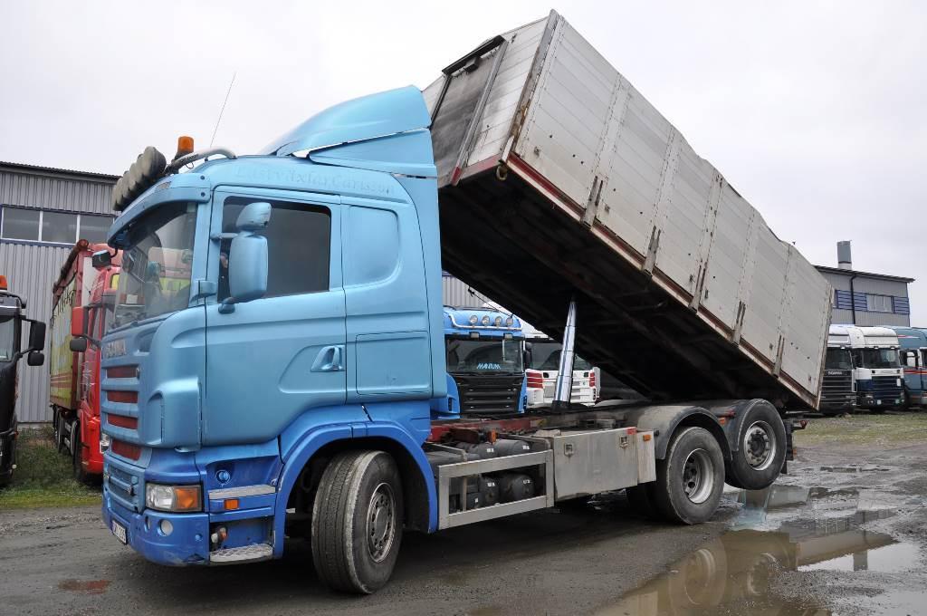 Scania R560LB6X2*4HNA, Tippbilar, Transportfordon