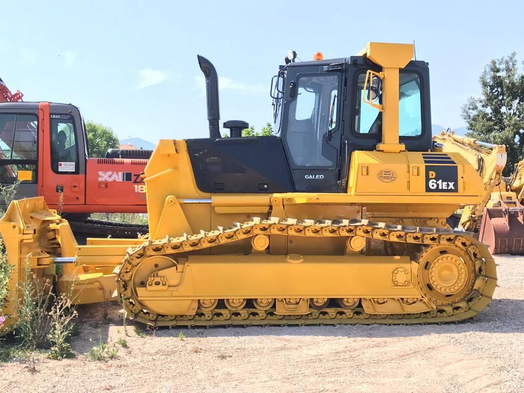 Komatsu D61EX-15E0, Crawler dozers, Construction Equipment