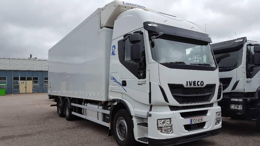 Iveco Stralis AS260S46FS, Kylmä-/Lämpökori kuorma-autot, Kuljetuskalusto