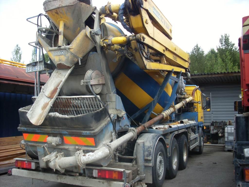 Volvo FM12 6x4 Saraka M26-4Z-4, Lastbilar med betongpump, Entreprenad
