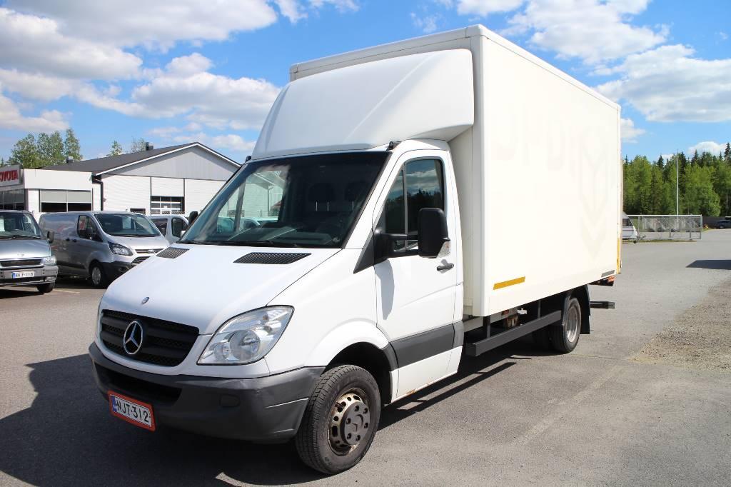 Mercedes-Benz Sprinter, Jakeluautot, Kuljetuskalusto