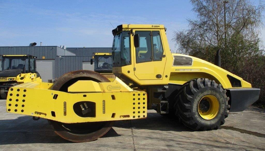 Bomag BW 332 DI BVC, Soil Compactors, Construction