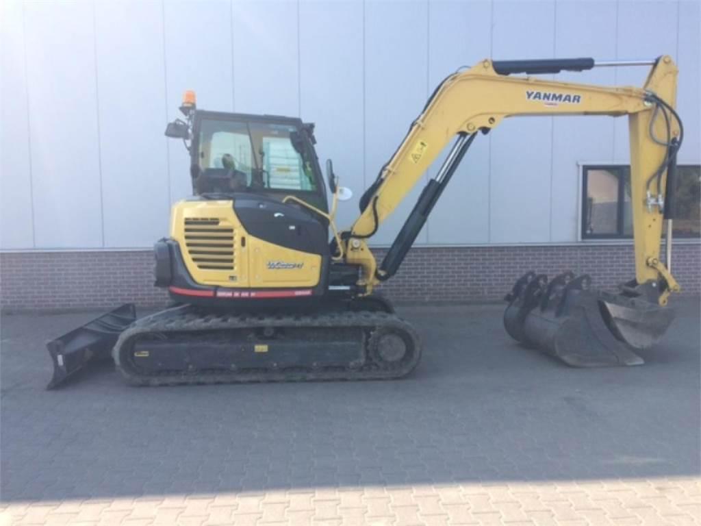 Yanmar VIO80, Mini excavators < 7t (Mini diggers), Construction