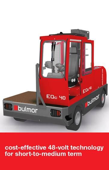 Bulmor EQc40, Övriga, Materialhantering